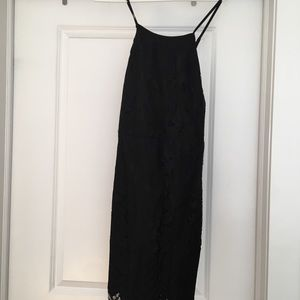 Missguided Black Lace Dress size 12